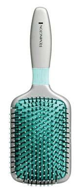 Remington B80P Shine Therapy Paddle Hairbrush Proffesional Tangle Soft Comb New