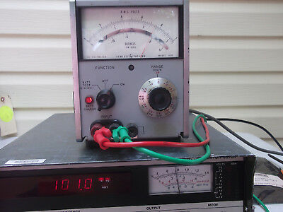 HP 403B #2 TRUE RMS AC VOLTMETER 1mV-300V FREE SHIPPING