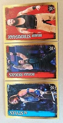 Topps Slam Attax Live - 3 x Collector Cards DC1 DC2 DC5 / 10th Edition