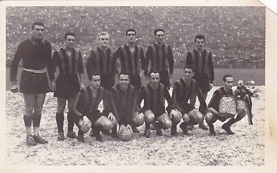 Calcio/Football Cartolina sq. INTER 1950-'51 originale