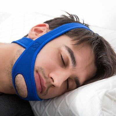 Anti Snoring Strap Snore Stop Jaw Belt Sleep Support Care Sleeping Tools Aid