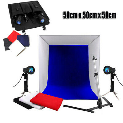Photography Studio Umbrella Continuous Lighting Reflector Video Light Stand Kit