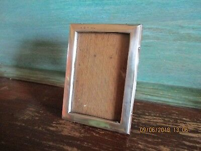 Deco Style Silver Travelling Photo Frame 1921 Birmingham