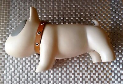 Nwt Collectible Tapas Bull Terrier Doggy Piggy Bank Coin Money Change Decorative