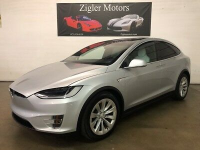 Tesla Model X 60D AWD 3rd Row Pano Roof One Owner Clean Carfax 2016 Tesla Model X 17,156 Miles