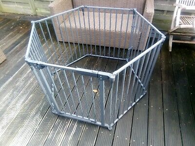 play pen six sided , used condition , bit works well , good condition.