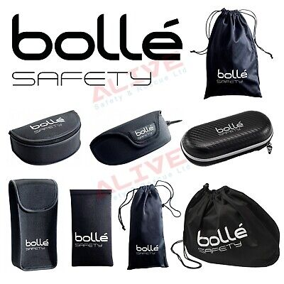 Bolle Safety Glasses Spectacles Polyester Safe Storage Case Microfibre Pouch Bag