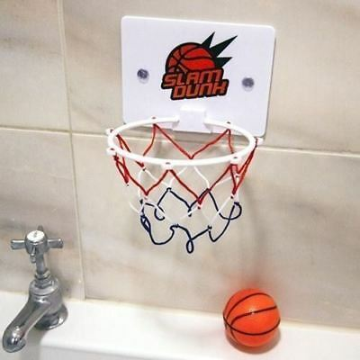 Bath Fun Time Games Set Basketball Toy Bathtub Bath Gift For Kids New