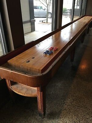 1940's American Shuffleboard Company Table 22ft Original