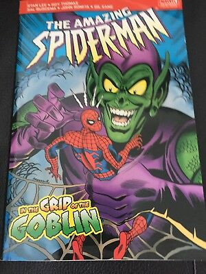 The Amazing Spiderman In The Grip Of The Green Goblin Marvel Pocketbook Comics