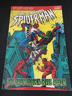 The Amazing Spiderman The Green Goblin Lives Again Marvel Pocketbook Comics