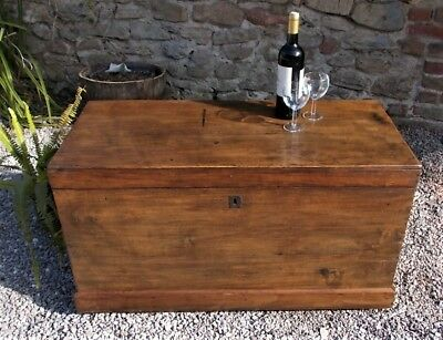 vintage blanket box ,coffer,coffee table,continental mule chest,toy box,storage,