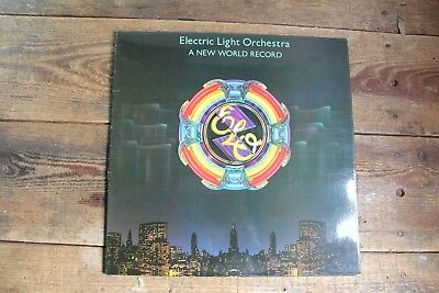 Electric Light Orchestra ‎– A New World Record Vinyl LP Jet Records ‎– JETLP 200