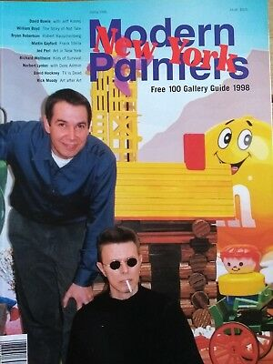 MODERN PAINTERS MAGAZINE - Spring 1998 - Great Condition!