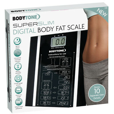 Battery Operated Digital Body Scale LCD Digits 150KG-180KG Weight Units KG/LB/ST