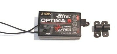 Hitec optima 9 AFHSS 9 channel receiver in excellent condition 2226660