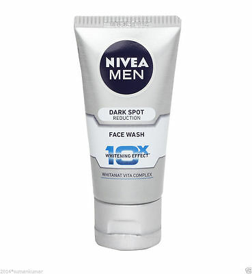 Nivea Men Dark Spot Reduction Face Wash 10X whitening Effect 100ml