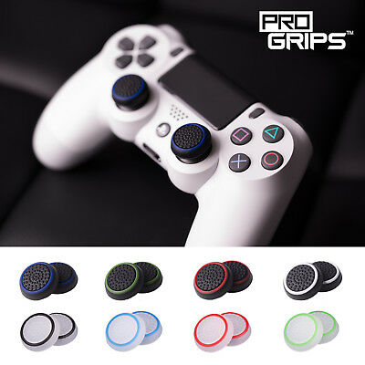 2 x Pro Grips™ Thumb Stick Cover Grip Caps For Sony PS4 PS3 Controller Joystick