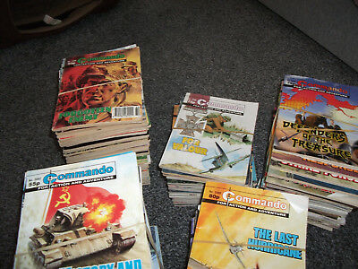 538 x COMMANDO - FOR ACTION AND ADVENTURE Comic Books From 1960s to 2010s - D23