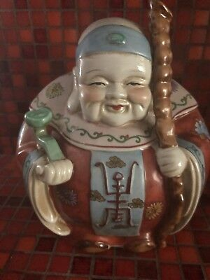 Two Chinese Porcelain Figurines Vintage