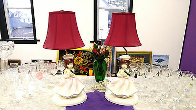 Laps set of 2 for girls bed room , study, playroom lamps
