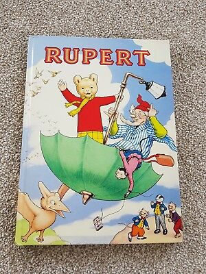 Rupert Annual, Good Used Condition, Hardback, I think it was printed in 1988.