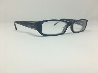 7d7f9b9f8af Authentic Vogue Eyeglasses 49-15-135 Flex Hinge Blue Plastic China Women s  S263