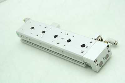 SMC 13-MXS12L-100A Pneumatic Guided Air Cylinder 12mm Bore x 100mm Stroke