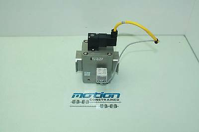 SMC NAV5000-N06-5DZ Soft Start Pneumatic Valve / 24V Coil