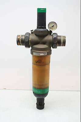 "Honeywell Braukmann AF11S-1 1/2A Pneumatic 1-1/2"" NPT Filter Housing 235 PSI"