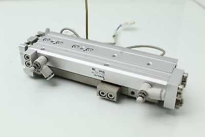 SMC MXQR12-75C Dual Rod Guided Air Cylinder Slide Table 12mm Bore x 75mm Stroke