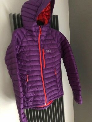 a817aeb22 RAB WOMENS MICROLIGHT Alpine Jacket Size 10 RRP £190 Immaculate