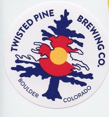 Twisted Pine Colorado Craft Beer Sticker Decal Brewery Brewing
