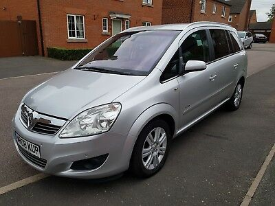 Vauxhall Zafira 1.8 16v, 2008 elite (top of range) 7 seat heated leather-1 owner