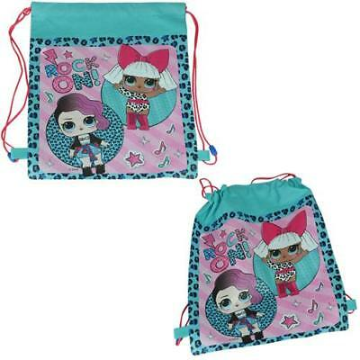 """LOL Surprise! """"Eco Friendly"""" Non Woven Sling Bag with Hangtag New Licensed Item"""