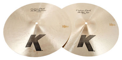 "Zildjian 14"" K Custom Dark Hi Hat Cymbal Pair"