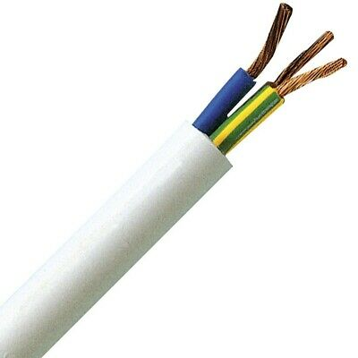 Electrical Power Cable without Plug 220V 3x1.5mm² (2m)