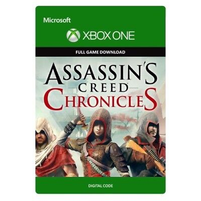 Assassin's Creed Chronicles Trilogy * Xbox One Game Download * Same Day Delivery