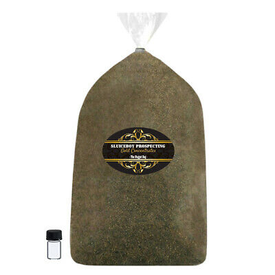 5 + Lbs Of Real Gold Dredge Concentrates From N. Georgia Pay Dirt Gift Idea Gold
