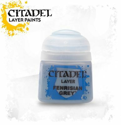 Fenrisian Grey Layer Citadel Paint Warhammer 40K Age of Sigmar NEW
