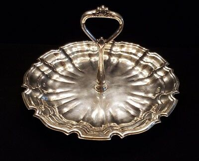 Towle silverplate dessert tray