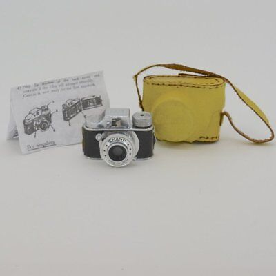 "Vintage Collectible Unusual Name ""Champ"" Subminiature Camera w/Case & Instructio"