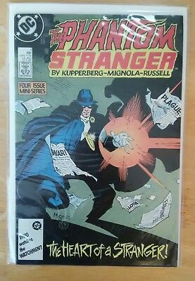 The Phantom Stranger 1 limited series (DC Oct 1987) very fine cond. Mignola art