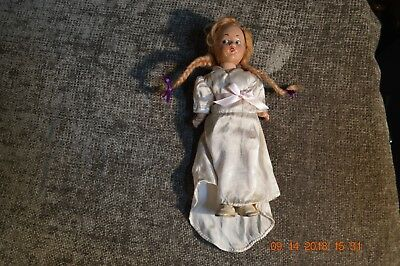 """Old Vtg. 9"""" Doll * """"wendy Ann Mme. Alexander New York"""" Hand Painted"""