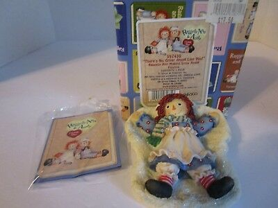 Raggedy Ann Making A Snow Angel ~There's No Other Angel Like You~ #597430 Enesco