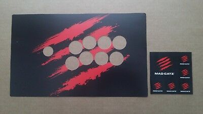 madcatz te2 fightstick for ps3 ps4 pc ultra street fighter iv