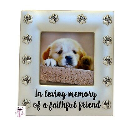 Pet Memorial Dog Photo Frame Dog Lover Keepsake Remembrance