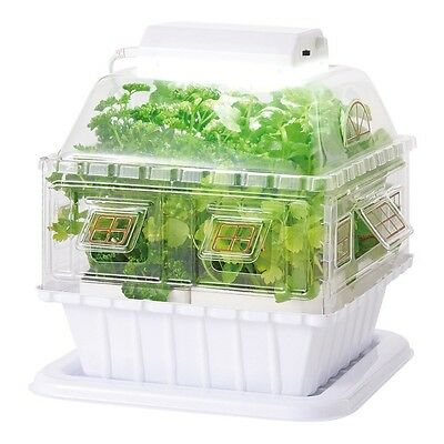 New LED Garden Hydroponic Grow Box Vegetable cultivating unit Gakken JAPAN F/S