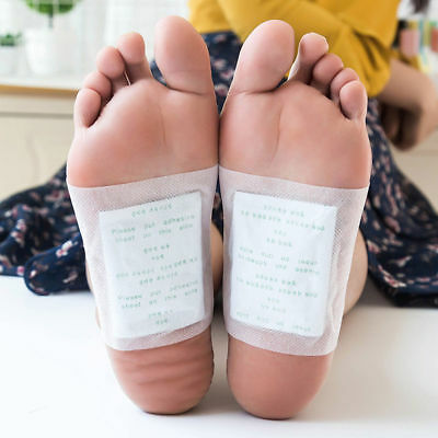 6Pcs Foot Pads Keeping Fit Patch Natural Health Care Detoxify Mask Beauty Gifts