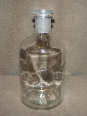 Round cylinder crystal clear stopper marked glass bottle bottom decanter